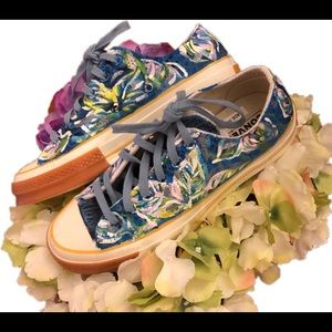 painted Lily Pulitzer print inspired converse